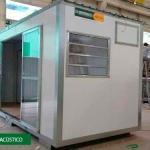 Container para stand de vendas
